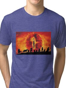 The Fellowship are Being Watched Tri-blend T-Shirt