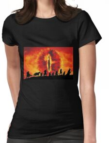 The Fellowship are Being Watched Womens Fitted T-Shirt