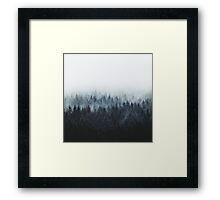 High And Low Framed Print