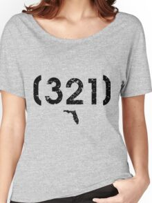 Area Code 321 Florida Women's Relaxed Fit T-Shirt