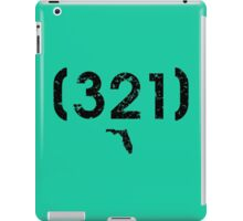 Area Code 321 Florida iPad Case/Skin