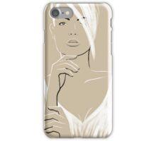 La Femme 05 iPhone Case/Skin