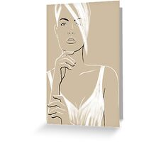 La Femme 05 Greeting Card