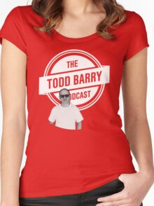 The Todd Barry Podcast T-Shirt Women's Fitted Scoop T-Shirt