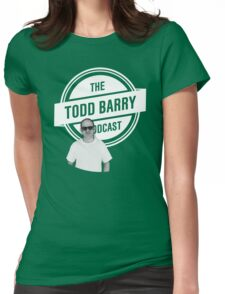 The Todd Barry Podcast T-Shirt Womens Fitted T-Shirt
