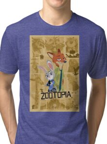 Fox and a Rabbit. The Movie! Tri-blend T-Shirt