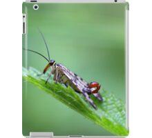 Common Scorpion Fly (Panorpa communis) iPad Case/Skin