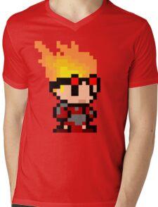pixel chandra Mens V-Neck T-Shirt