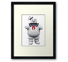 Stay-Puft Marshmallow Man Framed Print