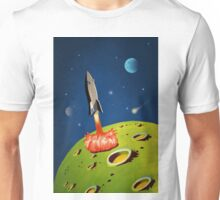 The World of Outer Space Travel Unisex T-Shirt