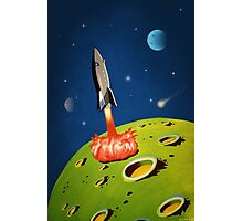 The World of Outer Space Travel Photographic Print