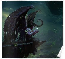 Illidan Hurlorage Poster