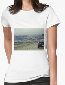 Arriving in Southern San Fran Womens Fitted T-Shirt