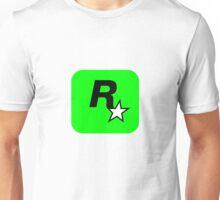 Rockstar Logo Lime Green Unisex T-Shirt