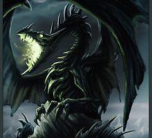The Dragon's Rock by drakhenliche