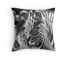 Fade with me Throw Pillow