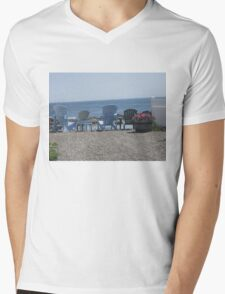 Ocean Watchers Mens V-Neck T-Shirt