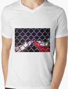 Light Trails Mens V-Neck T-Shirt