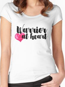 Warrior at Heart Women's Fitted Scoop T-Shirt