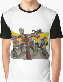 Guardians of the Galaxy Apparel Graphic T-Shirt