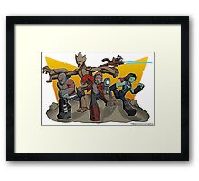Guardians of the Galaxy Apparel Framed Print