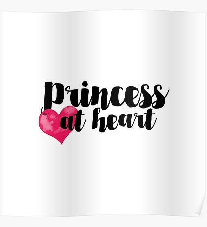 Princess at Heart Poster