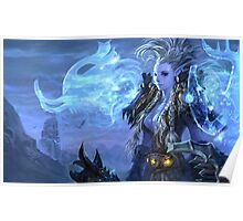 Troll woman shaman Poster