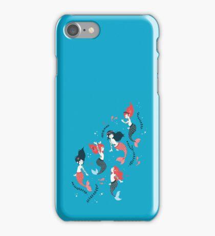 Tattooed Mermaids  iPhone Case/Skin