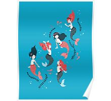 Tattooed Mermaids  Poster
