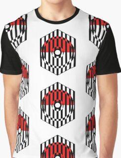 Screened Pokeball Graphic T-Shirt