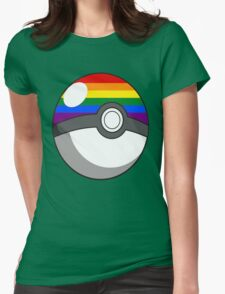 Pride Ball Womens Fitted T-Shirt
