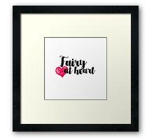 Fairy at Heart Framed Print