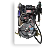 Classic Ghostbusters Proton Pack Canvas Print