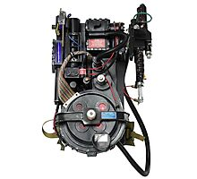 Classic Ghostbusters Proton Pack Photographic Print
