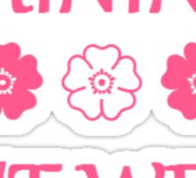 Femininity isn't weak Sticker