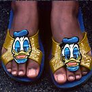 My Donald Duck Sandals by Kellice Swaggerty