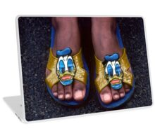 My Donald Duck Sandals Laptop Skin