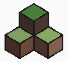 8 Bit Pixel Building Blocks Kids Tee