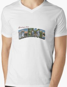Greetings from Tennessee Mens V-Neck T-Shirt