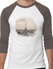Paris Men's Baseball ¾ T-Shirt