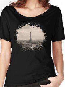 Paris Women's Relaxed Fit T-Shirt