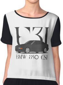 BMW 850 CSi (E31) (black) Chiffon Top