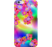 Mixed Flowers 2 Random Fill Pattern TyDy iPhone Case/Skin
