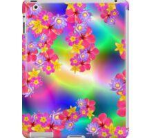 Mixed Flowers 2 Random Fill Pattern TyDy iPad Case/Skin