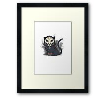 Neko Reaper Overwatch  Framed Print