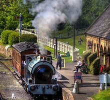 Beamish train by FLYINGSCOTSMAN