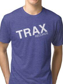 trax records t shirt Tri-blend T-Shirt