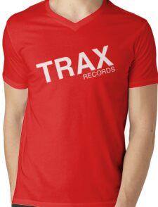trax records t shirt Mens V-Neck T-Shirt
