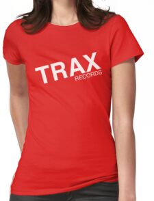 trax records t shirt Womens Fitted T-Shirt