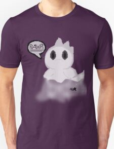 Ghost Dino pixel Unisex T-Shirt